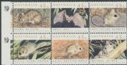 AUSTRALIA Reprint SG1312a Threatened Species Block of 6 - 1 Koala